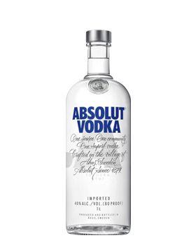Absolut Vodka 1L.