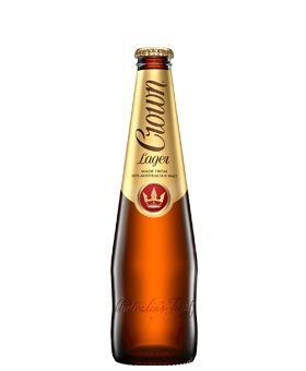 Crown Lager (24x375 ml) ............................................................