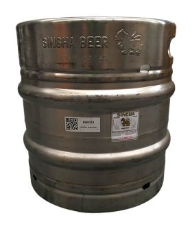 Singha Beer Keg 30 Litres ............................................................ ............................................................ OUT OF STOCK