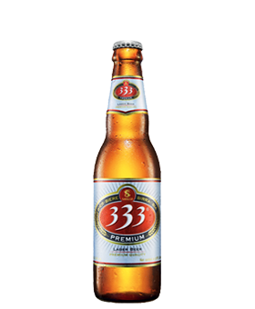 333 Beer (24x355 ml) ............................................................
