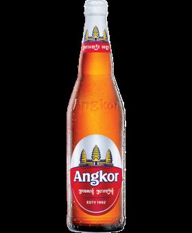 Angkor Beer Long Neck (12x640 ml)