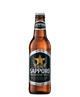 Sapporo Beer (24x355 ml) ............................................................